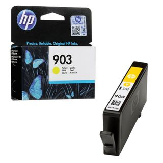 Inkjet cartridge HP (T6L95AE) OfficeJet 6950/6960/6970, # 903, yellow, yield 315 pages, original