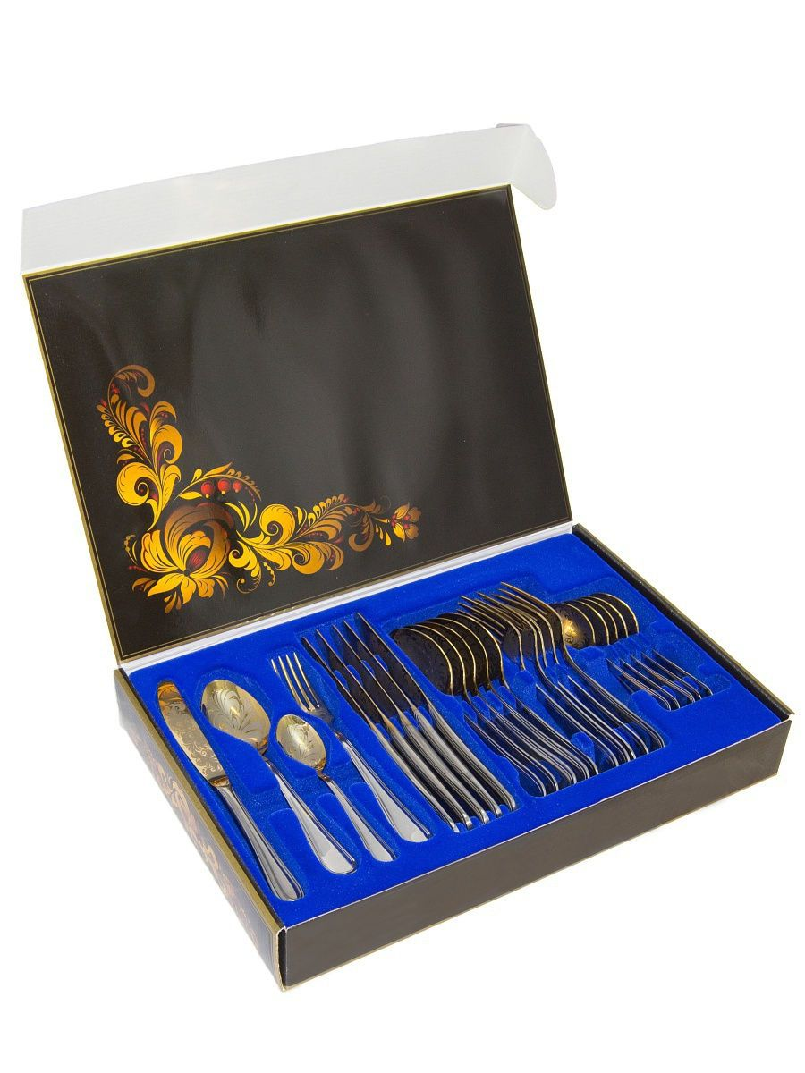 "Cutlery set 24 items, ""Rhapsody"", Pavlovsky plant"