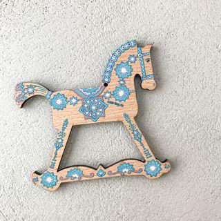"""Christmas tree toy """"Konyashka"""" (art 21)"""