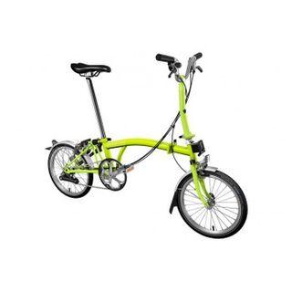 Brompton M6L 2019 Folding Bike Lime Green