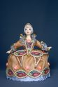 Doll gift porcelain. Cinderella in ball gown. Fairy tale character. - view 1