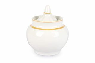Dulevo Porcelain / Sugar Bowl 600 ml Pomegranate Layering with chandeliers