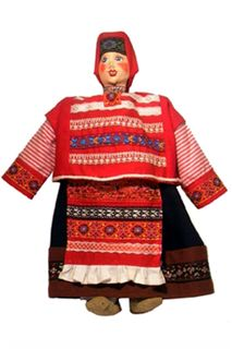 """Doll gift. """"The villagers"""". Girl"""