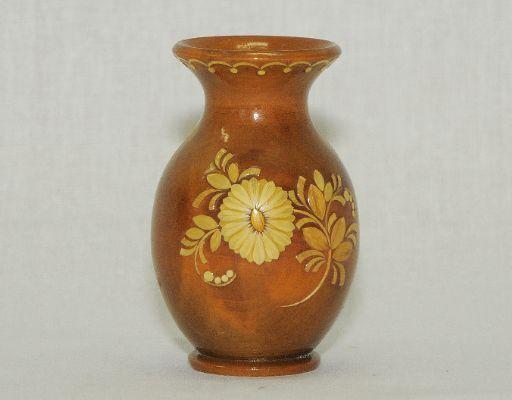 Vyatka souvenir / Decorative inlay vase № 6, 2 var.