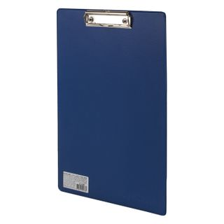 Board tablet FISMA with a clamp A4 (230х350 mm), cardboard/PVC, RUSSIA, BLUE