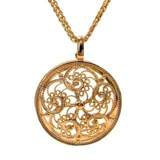 Pendant with a lens 50080