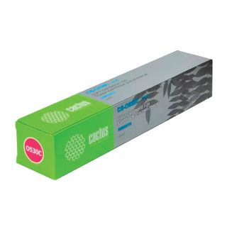 Toner cartridge CACTUS (CS-O301C) for OKI C301 / 321, cyan, resource 1500 pages.