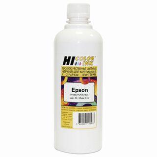HI-BLACK ink for EPSON universal, black, 0.5 l, water