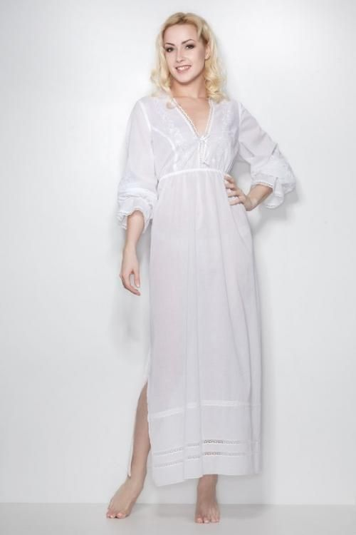 "Chemise nightwear women's ""Sweet fantasy"" casual, Maxi"