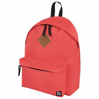 Backpack BRAUBERG, universal, city-format, single tone, peach, 20 liters, 41х32х14 cm