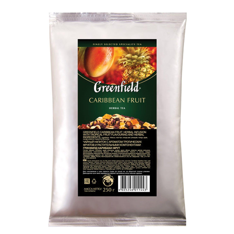 "GREENFIELD / ""Caribbean Fruit"" fruit tea - mango / pineapple, leaf, packet 250 g"
