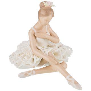 """Porcelain statuette """"Ballerina"""" 10*17*11 cm"""