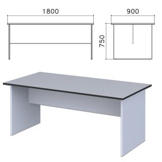 Monolith negotiating table, 1800s900s750 mm, grey