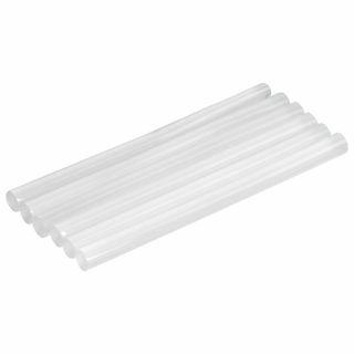 Glue sticks, diameter 7 mm, length 100 mm, transparent, set of 6 pcs., BRAUBERG, euro hanger