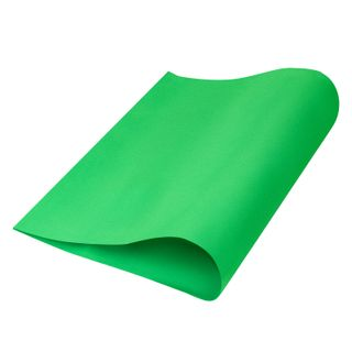 Porous rubber (tamilan) for creativity, GREEN, 50x70 cm, 1 mm, TREASURE ISLAND