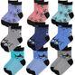 Socks for children 'Sea inhabitants'