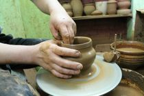Excursions to production - pottery craft