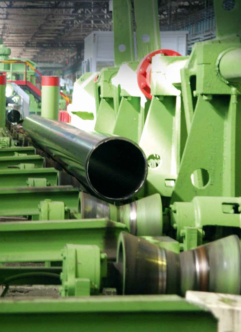 Pipes for oil and gas and general purpose with a diameter of 114-530 mm