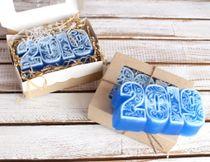 Handmade soap Digit 2019 patterned