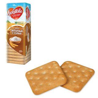 "LYUBYATOVO / Cookies-cracker ""Amber with salt"", 235 g, spike"