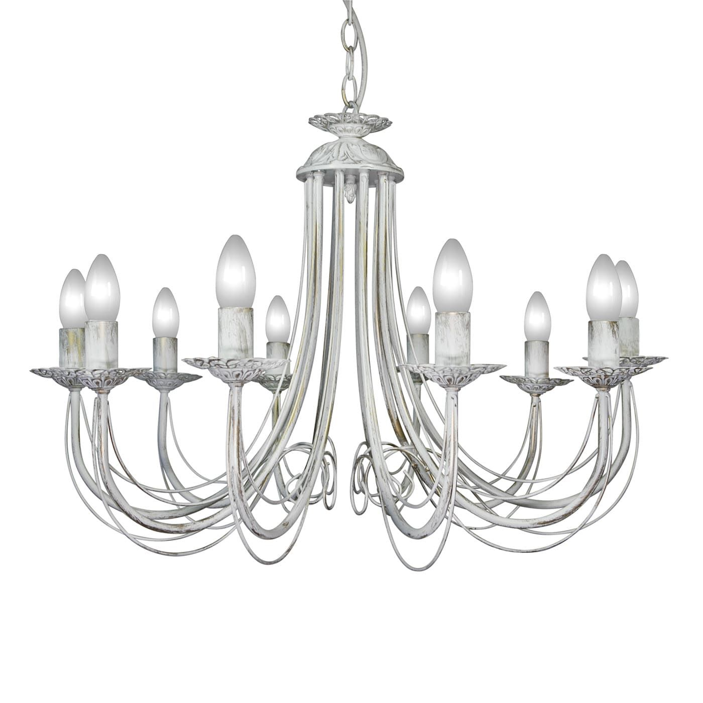 PETRASVET / Pendant chandelier S1165-10, 10xE14 max. 60W