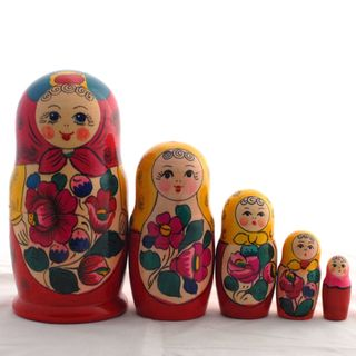 Matryoshka 5 dolls Polkhovsky Maidan