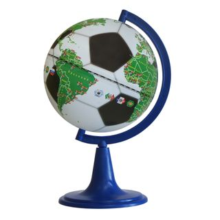 """Gift globe """"world Cup 2018"""" with a diameter of 150 mm"""