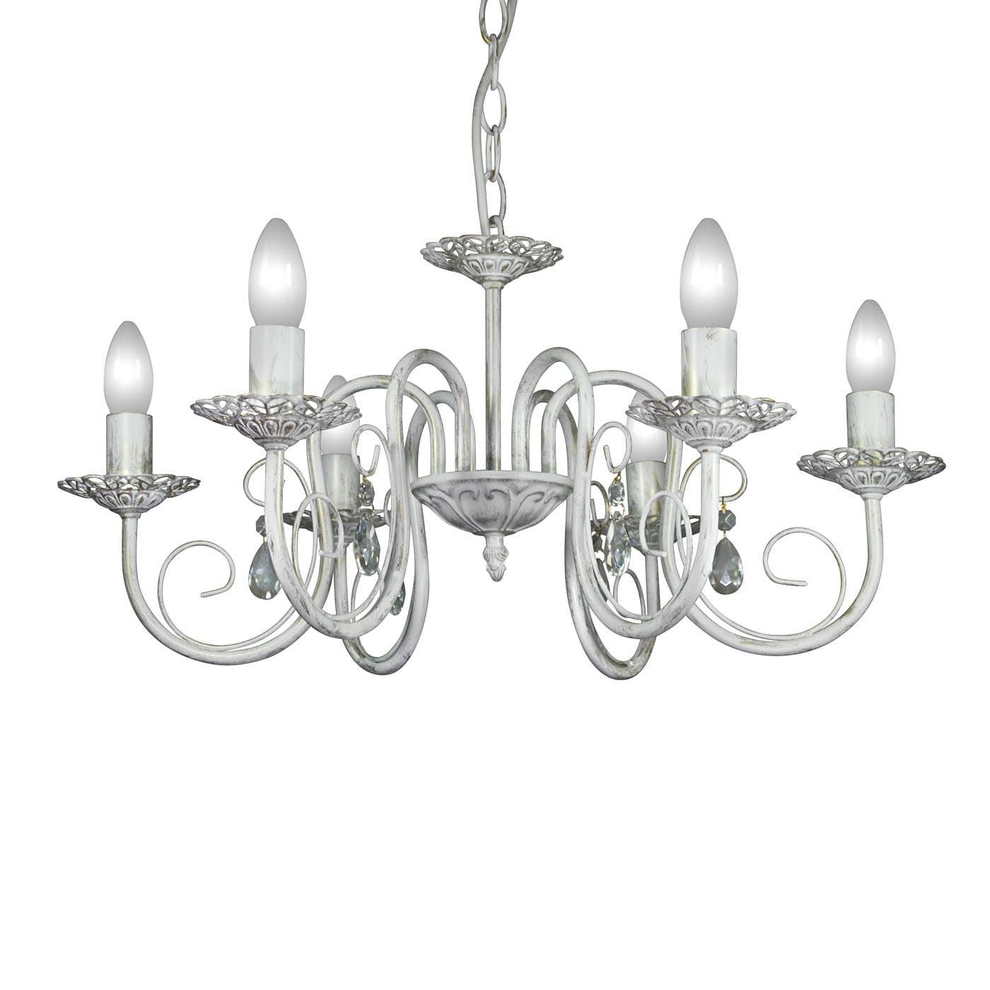 PETRASVET / Pendant chandelier S1170-6, 6xE14 max. 60W