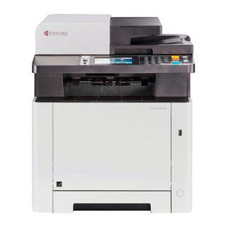 MFP laser COLOR KYOCERA M5526cdw (printer, scanner, copier, fax), A4, 26 ppm, 50,000 ppm, ADF, DUPLEX, WI-FI s / card