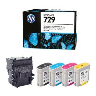 HP Designjet T830 / T730 Printhead Replacement Kit (F9J81A) # 729 Original