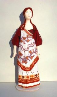 Doll gift. The nymph costume for the ballet