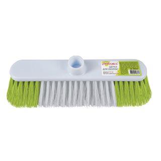 LYUBASHA / Cleaning brush, width 31 cm, bristle 8 cm, two-color, plastic, fastening Euro thread