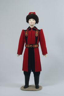 Doll gift. Male costume. Yakutia.
