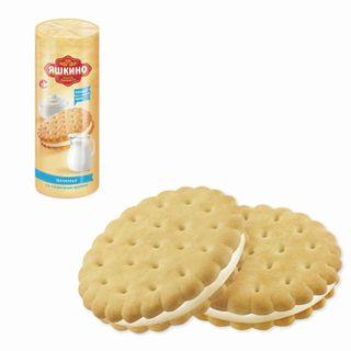 "YASHKINO / Cookies ""With butter cream"", lingering, 182 g"