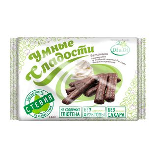 "Gluten-free bars ""Smart sweets"" with filling in the glaze 110 g"