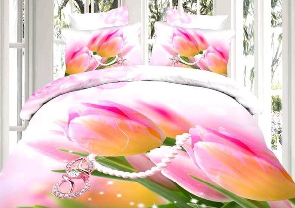 Satin bed linen 3D March 8