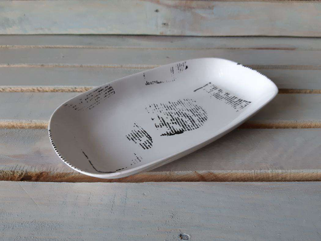 "Horex / Dish ""Gazzetta Bianco"" modern ovale 8 pcs."