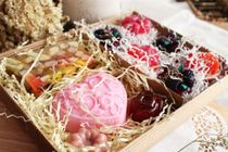 Large gift set of soap Biscuit fantasy