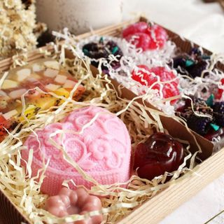 Large gift set of soap Biscuit fantasy