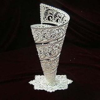 "Kazakovskaya Filigree / ""Screw-shaped"" Cup"