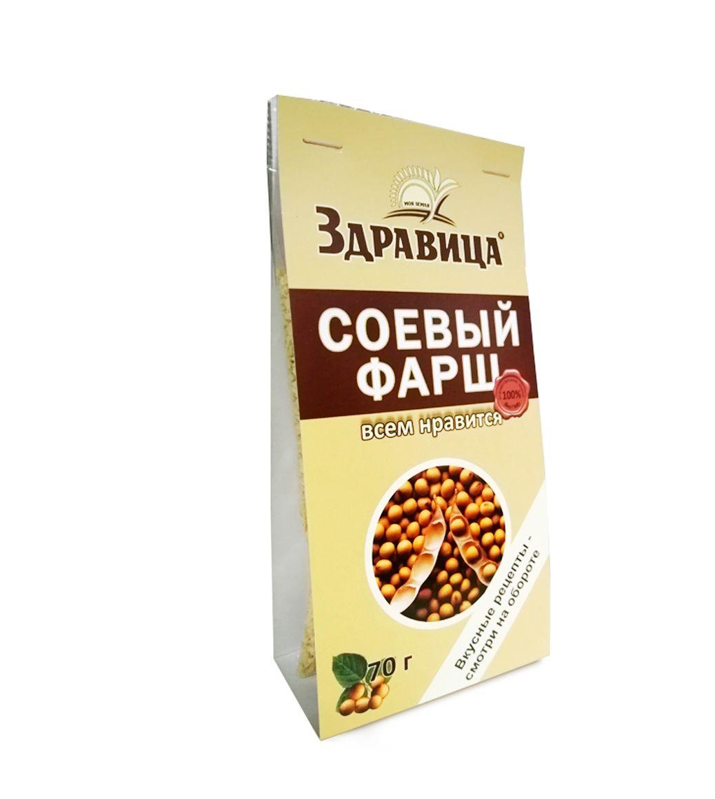 "Zdravitsa / Soy Minced Meat ""Zdravitsa"" in a package of 16 pcs., 70 g each"