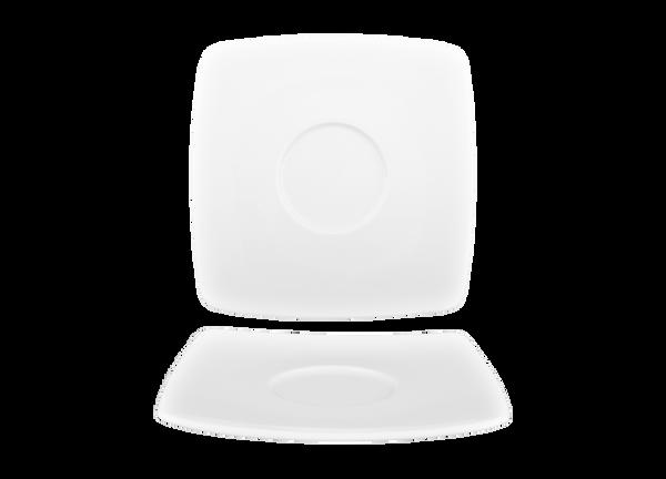 Saucer Square Porcelain