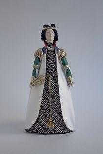 Doll gift. Iago. Theatre costume.