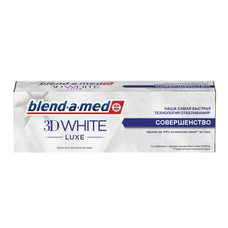 Toothpaste 75 ml, BLEND-A-MED (Blend-a-med) 3D White Luxe