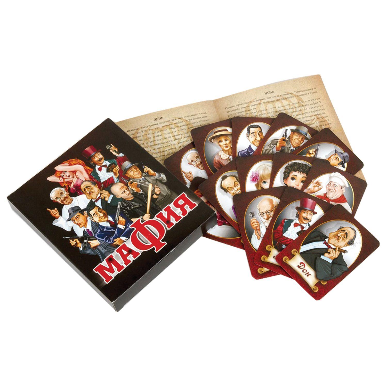 """Game table card """"Mafia,"""" """"The Tenth Kingdom,"""" 01895"""
