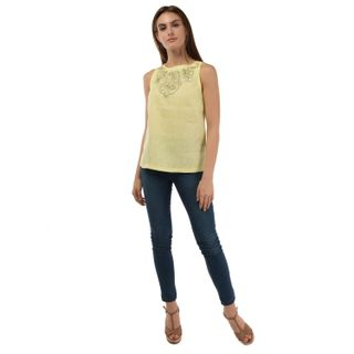 "Women's blouse ""city"" yellow"
