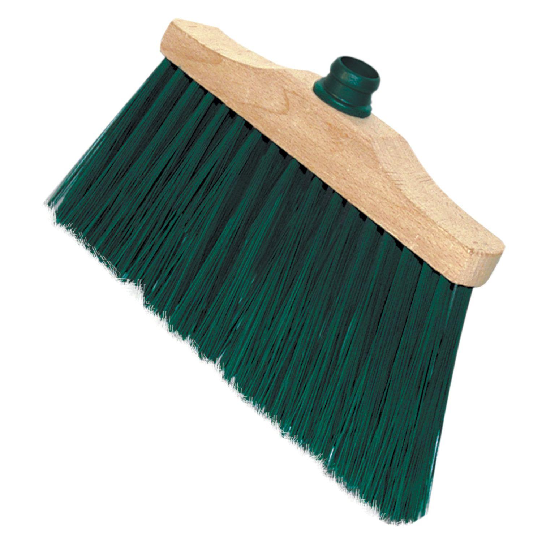 "YORK / Brush ""Laura"" for cleaning, width 31 cm, bristles 14 cm, wooden, euro-thread fastening"