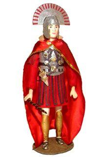 Doll gift. Centurion. The military uniform. The Roman Empire. 4-6 century BC.