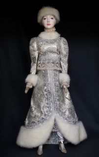The snow maiden. Doll gift