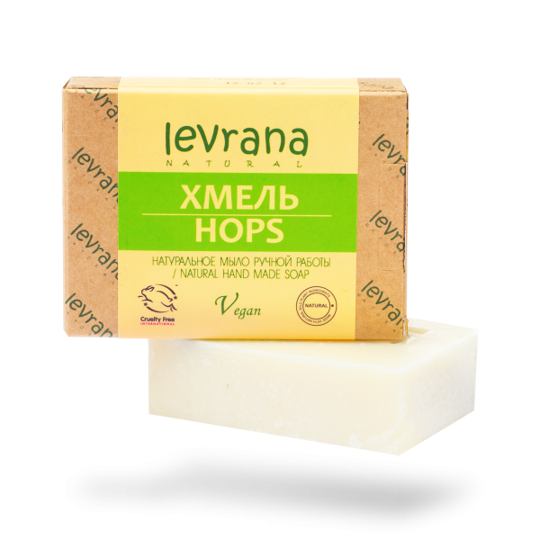 "Natural handmade soap ""Hops"", LEVRANA"